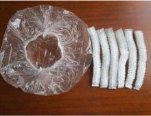Bonés elásticos descartáveis para chuveiro, 50 peças, para banho, cabelo claro, chapéus, toucas de banho, venda imperdível