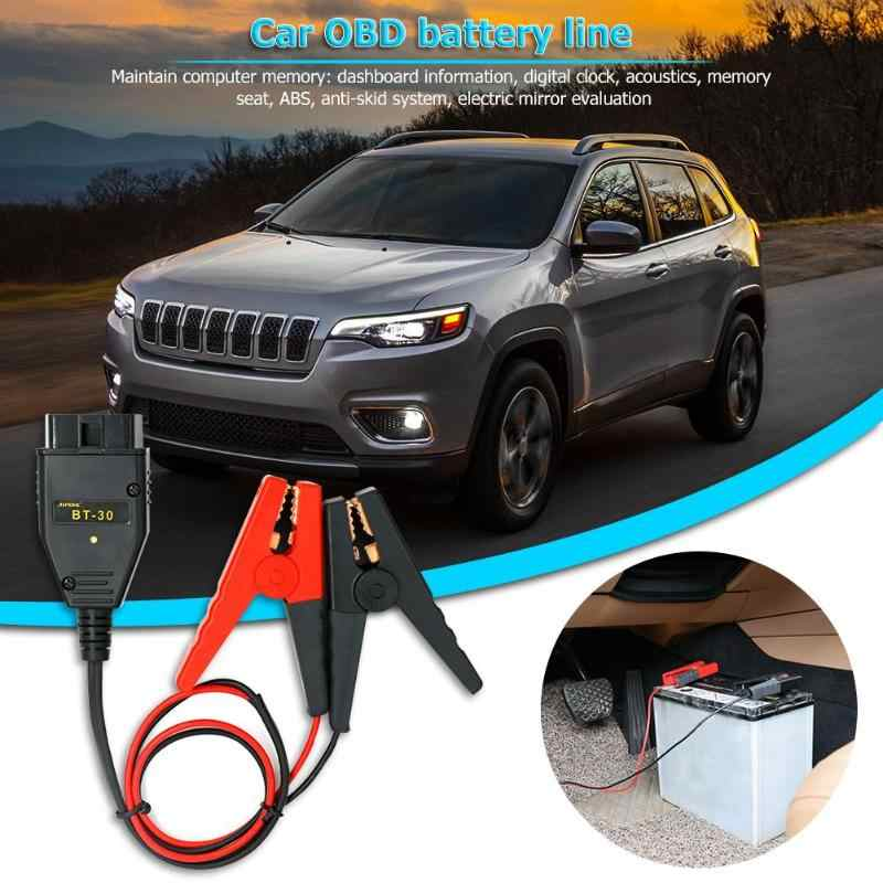 BT-30 для автомобиля OBD2 ECU, Запасной инструмент для аккумулятора, автомобильный OBD 2 II, кабель для аварийного питания