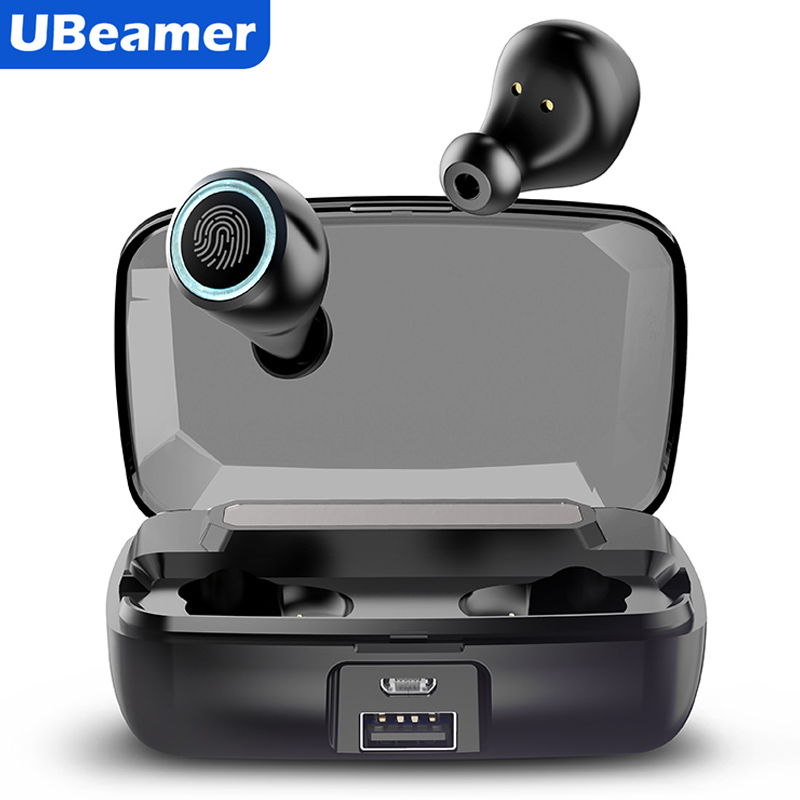 2020 TWS Ubeamer Bluetooth Earphone Wireless Earphone With Charging Case Microphones Auriculares Bluetooth Inalambrico For Phone