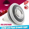 150 Вт полный спектр растений светодиодный светильник лампы COB лампа светильник ing для семян гидро цветок теплица Крытый сад E27 Фито палатка
