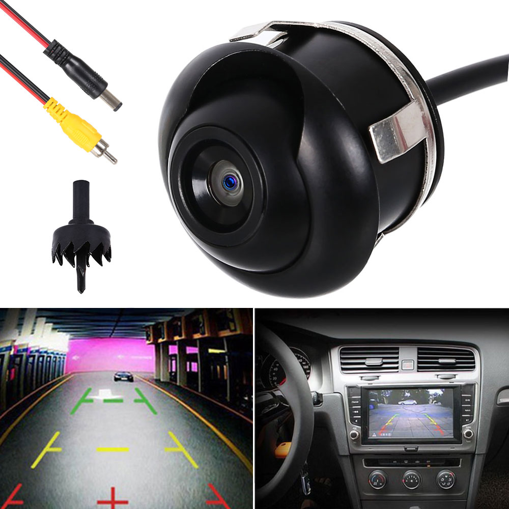 cheapest 360 Degree HD Night Vision Car Rear View Camera IP68 Waterproof Auto Rear View Camera Back Reverse Side Reversing Backup Camera