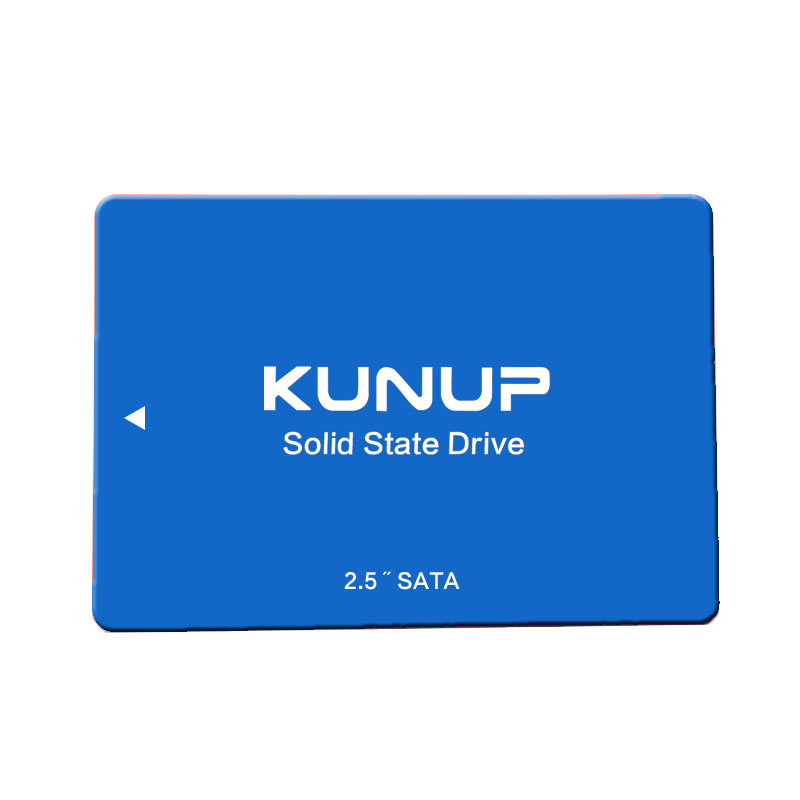 Kunup SSD SATA III 2.5 Inch 120G 128GB  240GB 480G Hard Drive Disk HD HDD Blue Ssd 1TB SSD Disk Factory Directly