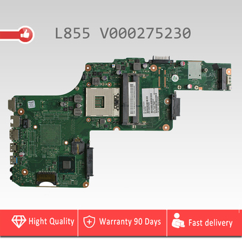 V000275230 for Toshiba satellite L855 c850 c855 Laptop motherboard PGA989 DK10FG-6050A2491301-MB-A03 mainboard 100% tested intat