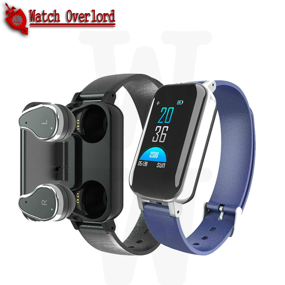 WO T89 Smart <font><b>Watch</b></font> Bluetooth5.0 Headphone Call Reminder Heart Rate Blood Pressure Monitor Smartwatch for Men Women PK <font><b>m1</b></font> gt08 a1 image