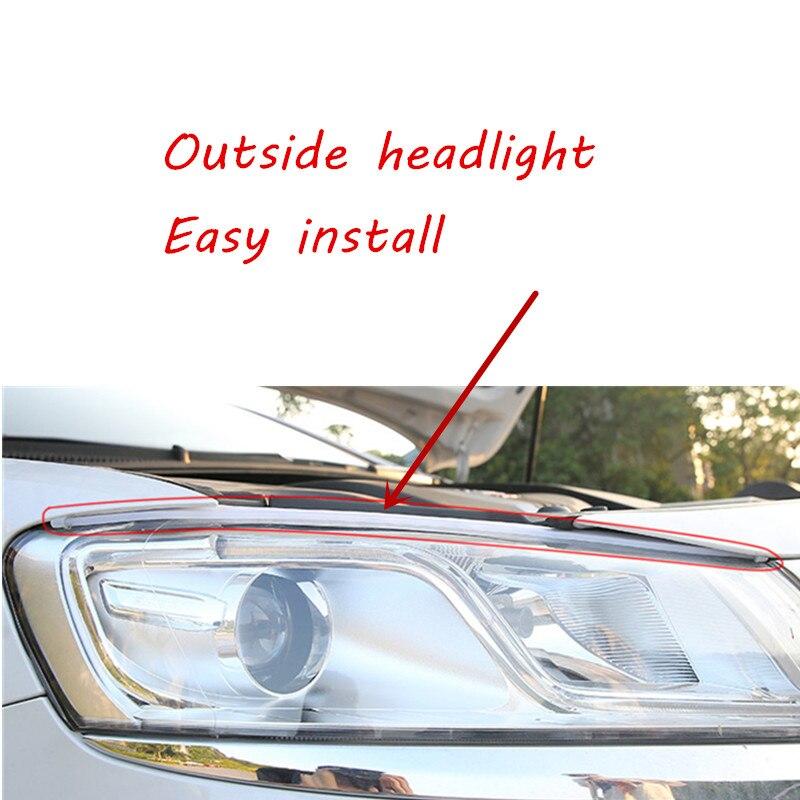 cheapest Doofoto 2x Car Accessories Styling Seat Gap Filler Leak Proof Strip Interior Sticker For Toyota C-HR 2019 CHR Caron Fiber Cotton