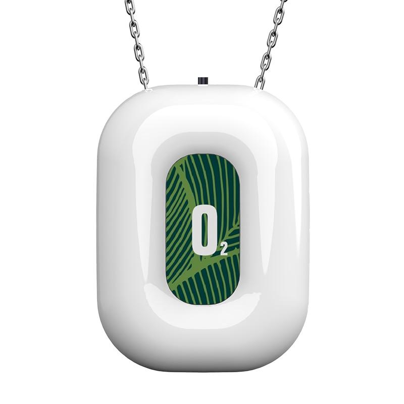 Персональный носимый очиститель воздуха ожерелье мини портативный Освежитель Воздуха Ионизатор отрицательных ионов генератор для путеше...