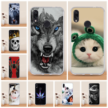 For Xiaomi Redmi Note 7 Case Cover Funda Silicone Phone Coque Carcasa Anime