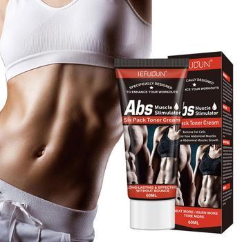 Abdominal Muscle Cream Fat Burner Weight Loss Body Leg Waist Effective Anti Cellulite Fat Burning Skin Care Body Cream TSLM1 1