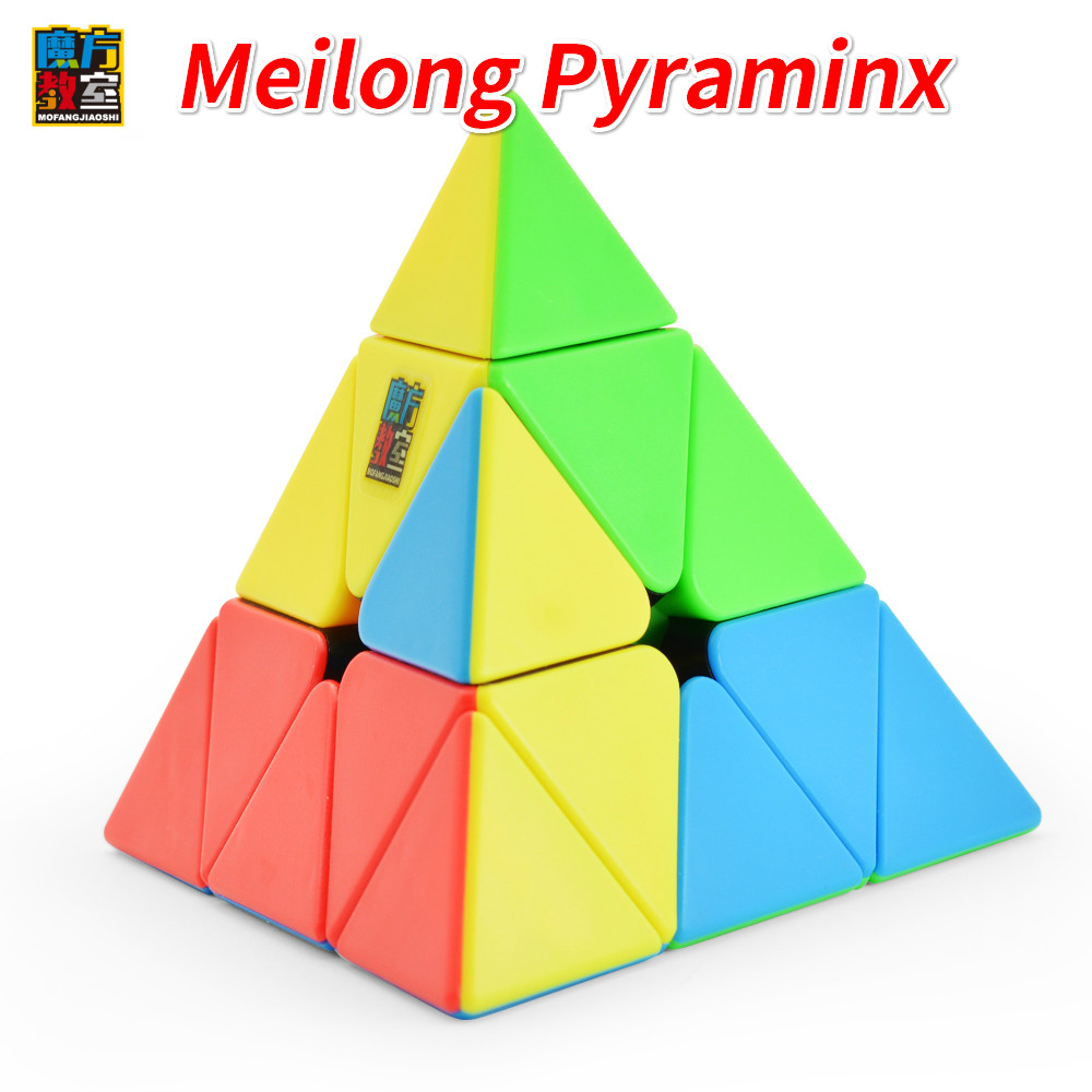 New Moyu Cubing Classroom Meilong 3x3 Pyra Magic Minx Speed Triangle Cube Pyramid Toys Magico Cubo For Kids Education Toys Gift