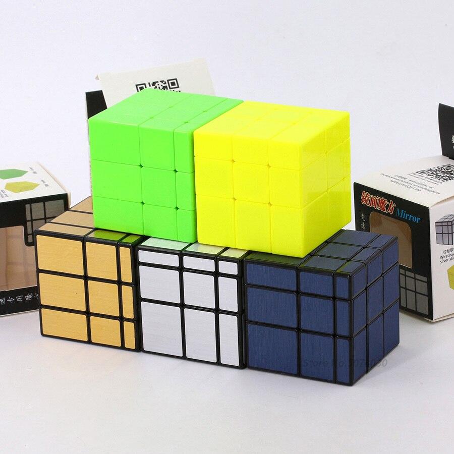 Qiyi Mirror Cube Puzzle Third-order Mirror Shaped Children Creative Puzzle Toy Adult Decompression Anti-pressure