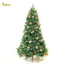 Teellook 1.2 m / 3.0 PE + PVC encryption pine cone Christmas tree Hotel shopping mall home decoration