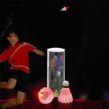 Светящиеся Бадминтон Бадминтон бадминтон с электричеством световой подсветкой крытый открытый Спорт Игрушки подарки игры