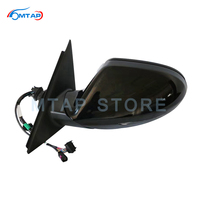 Exterior Outer Rearview Side Mirror Assy For Audi A6 A6L C7 2013 2014 2015 2016 2017 2018 Led Heated Electric Folding BSD Memory