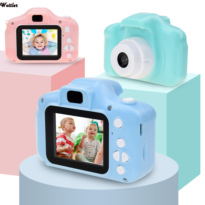 Mini Digital Camera for Child Photo Video Cameras Recording Camcorders for Children Kids Baby Gifts Educational Toys Birthday