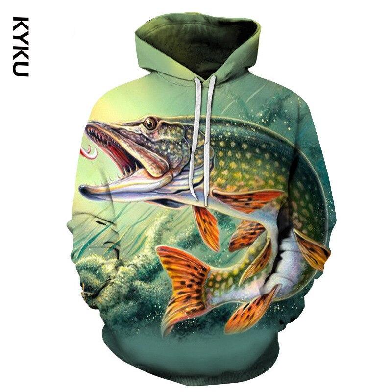 3D забавные толстовки с тропическими рыбками для рыбаков мужские женские мужские толстовки с длинным рукавом толстовки с капюшоном уличная одежда куртки в стиле хип хоп Толстовки и свитшоты    АлиЭкспресс - Товары для рыбаков