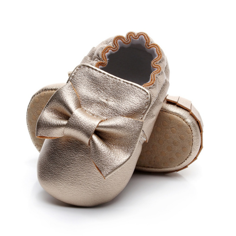 5 Colors Spring Baby Shoes PU Leather Newborn Boys Girls Shoes First Walkers Baby Moccasins 0-12 Months