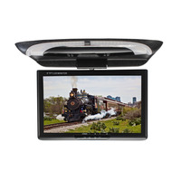 9 Inch LCD Color Digital Screen TFT Roof Mount Dome Lights DVD Flip Down CD Player Video Car Monitor With Remote Controller ABS