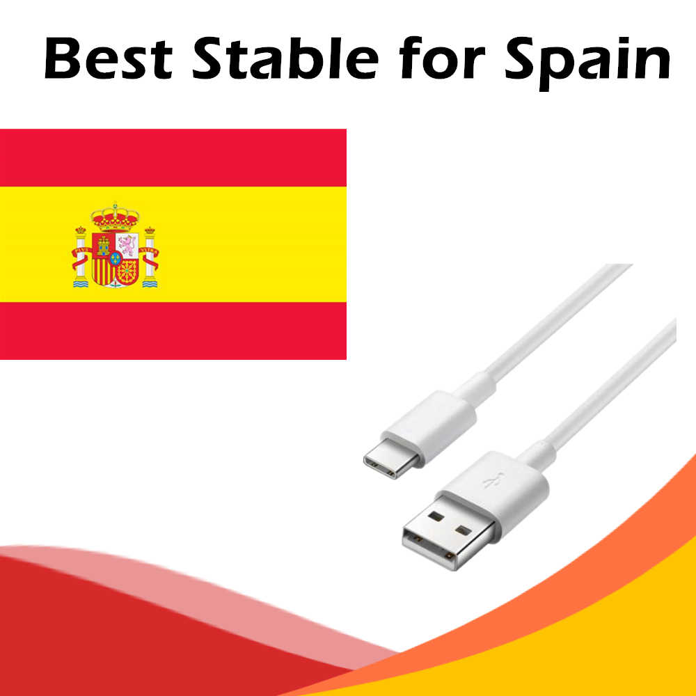 Cable USB para España Android Smart TV VLC M3U Xtream Procaja servidor