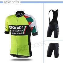 Pro Team Cycling Jersey Set Bicycle Clothes Men Short Sleeve Summer Sport MTB Bike Road Riding Clothing Bib Pants