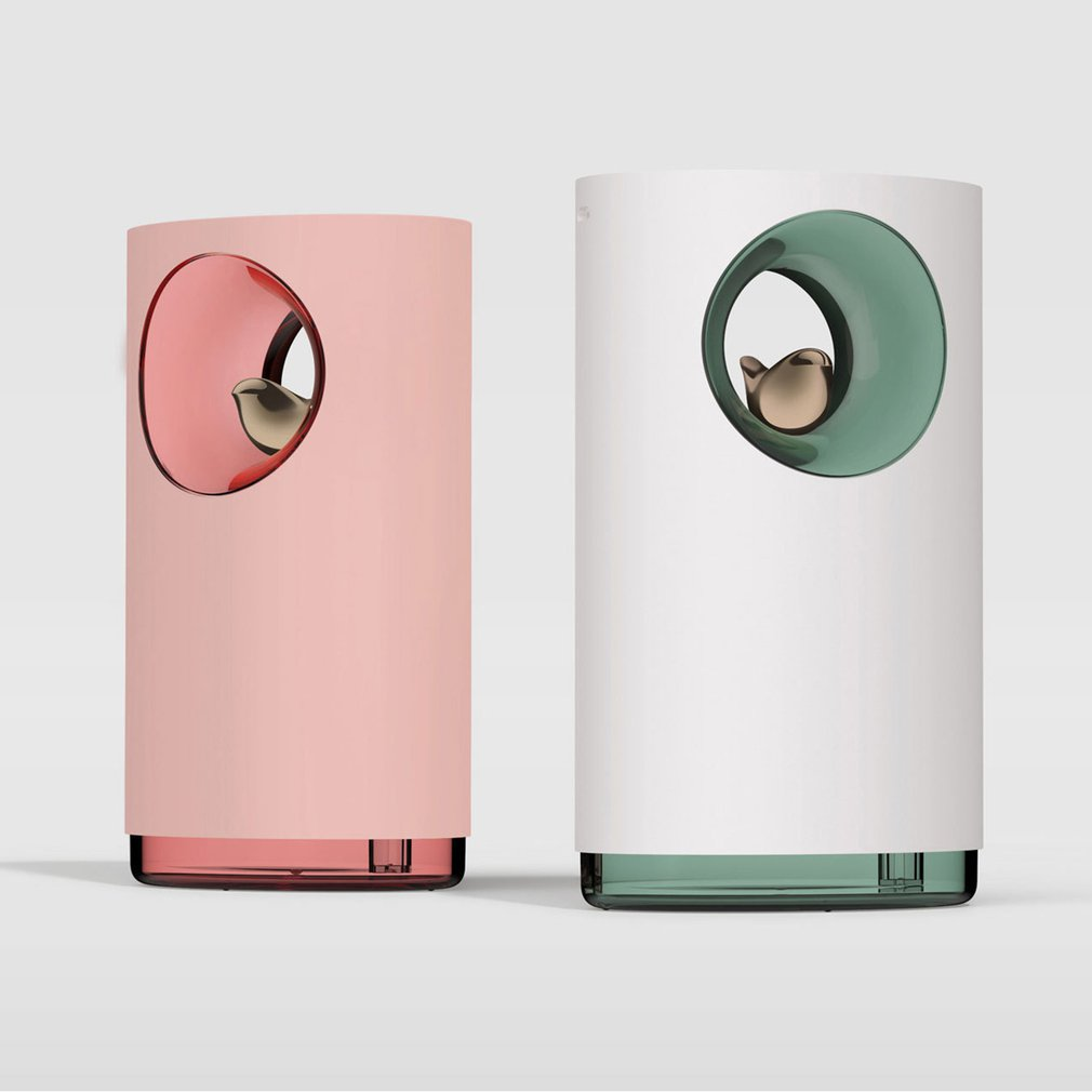 Music USB Bird Air Humidifier With Night Light Household Atomizer Diffuser Aroma Diffusor Anion Mist Maker Fogger