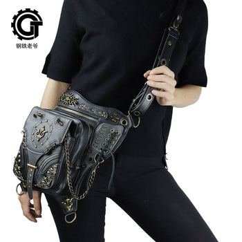 Hot Selling Handbags 2020 New Style for Autumn and Winter Punk Outdoor Sports Multi-Function Tactical Waist Pack
