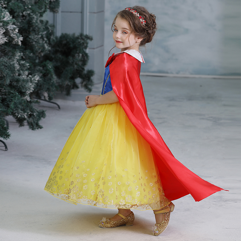 Fancy Girl Dress Cosplay Costume For Kids Dresses Princess Carnival Birthday Party Wear Baby Clothes Teens Chidren Clothing 14