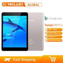 Teclast M89 Pro Tablet PC 10 Core 2,1 GHz actualizado 3GB + 32GB 7,9 pulgadas Android 7,1 MTK Helio X27 (MT6797) OTG Dual WiFi HDMI tipo C