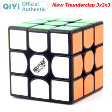 QiYi The New Thunderclap 3x3x3 Magic Cube MoFangGe 3x3 Speed Twisty Puzzle Brain Teaser Challenging Intelligence Educational Toy