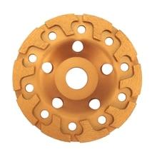 Ceramics-Tools Disc-Bowl Granite-Stone Grinding-Wheel Concrete 125mm Diamond Shape