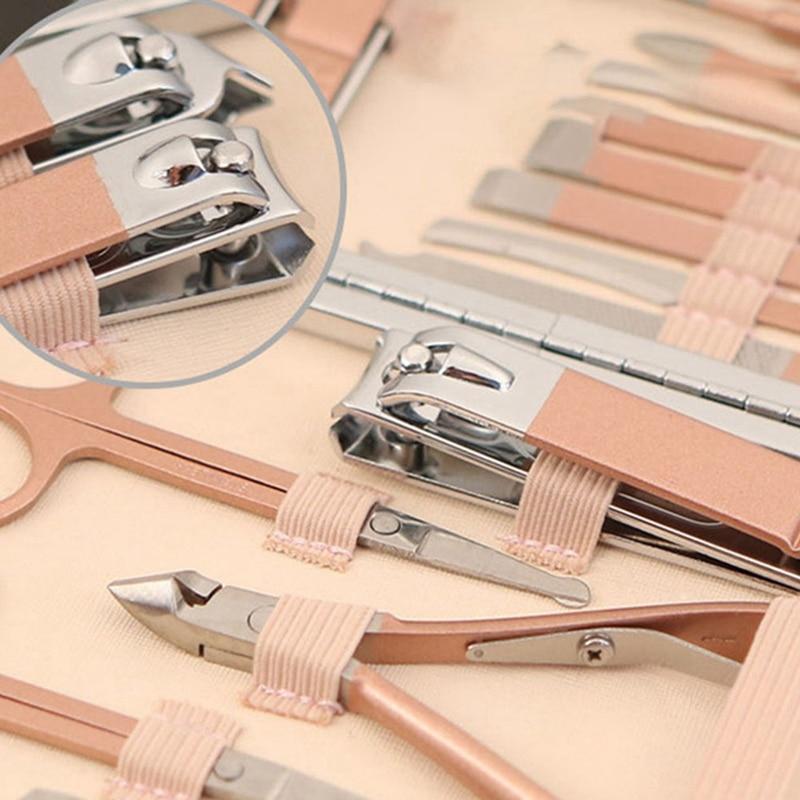 pedicure ferramenta sobrancelha clipper conjunto de ferramentas de unhas