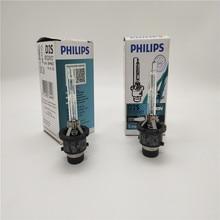 Envío gratis 10 Uds. Bombillas de xenón automotrices originales Philips D2S x-treme Vision + 50% 85122XV 85V 35W For-BMW, for-Mercedes Benz