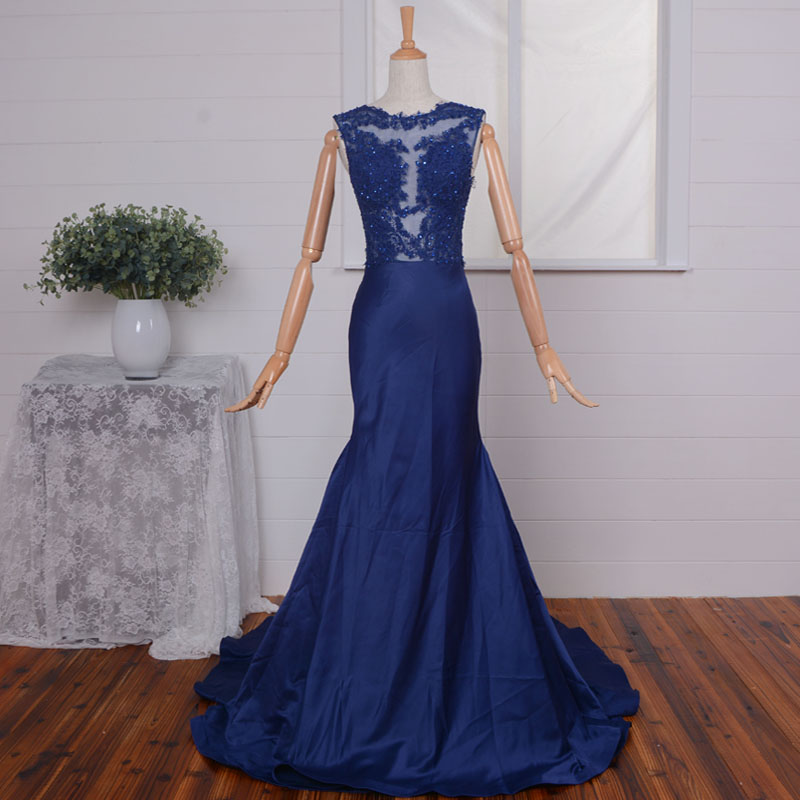 Hot Sexy Mermaid Evening Gown 2018 Lace Appliques Beading Off The Shoulder Prom See Through Vestidos Mother Of The Bride Dresses