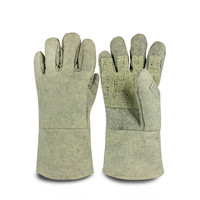 ABG 5T 34 palm reinforced high temperature gloves 500 degrees anti high temperature gloves wear resistant anti hot gloves