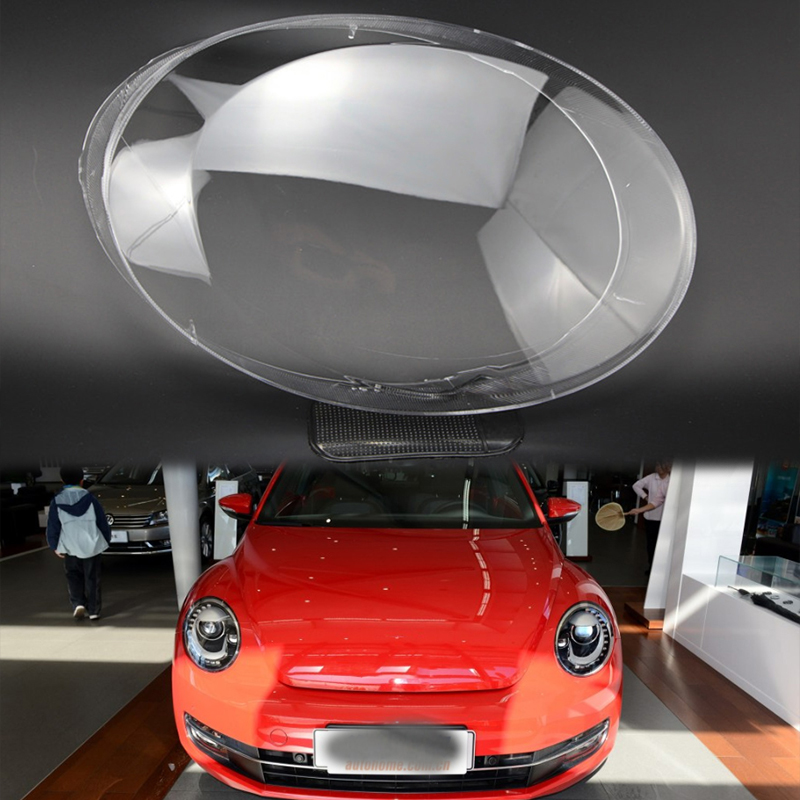 for TVolkswagen Beetle LENS lampshade Front headlight cover Headlight transparent housing Headlight protection car  shell