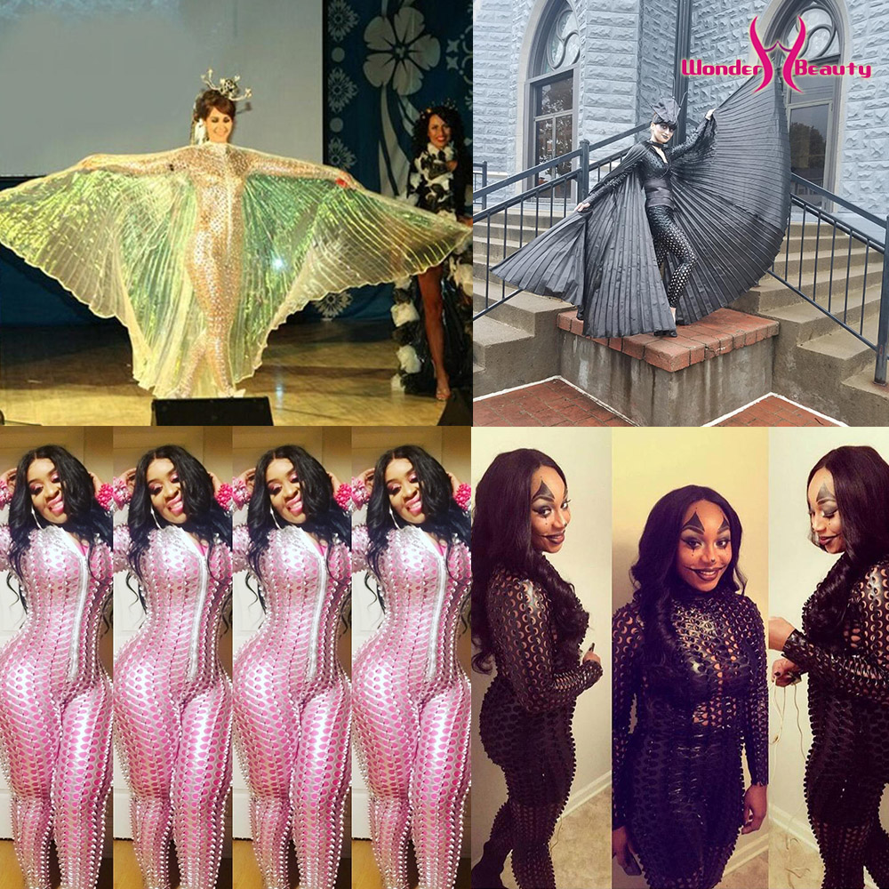 Wetlook Catsuit PU Faux Leather Jumpsuit Zentai Costume Women Zipper Front Hollow Out Hole Pole Dance Nightclub Vinyl Bodysuit (48)