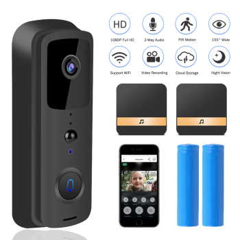 HISMAHO Video Intercom Smart WI-FI Doorbell Camera 1080P HD Video Door Phone Security Wireless IR Night Vision For Apartments 1