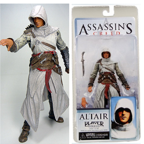 15cm Assassin's Creed Figure Connor Action Figures Super Movable Joints Pvc Figurines Colection Toys Anime Decoration