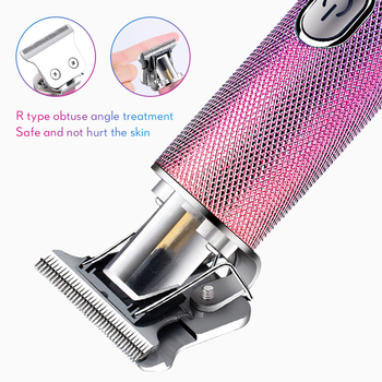IXueJie Hair Clipper for Men Professional Barber Clipper Hair Trimmer USB Rechargeable Oil Head Carving Hair Cutting Machine lili professional balding clipper for barbers and stylists cuts full head balding cutting machine super motor hair salon clipper