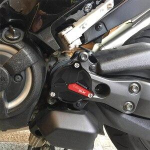 Image 2 - محرك TMAX560 للدراجة النارية يامها TMAX 530 TMAX530 DX/SX 2012 2019 غطاء حماية للجانب غطاء فتحة محرك رمح غطاء