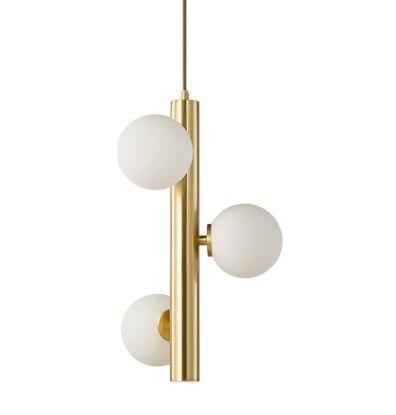 Modern LED Pendant light Golden Color Bedroom Hanging Lamp Dining Living room Lights Fixture