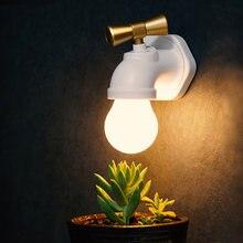 Творческий голос Управление светодиодный ночной Светильник Кран