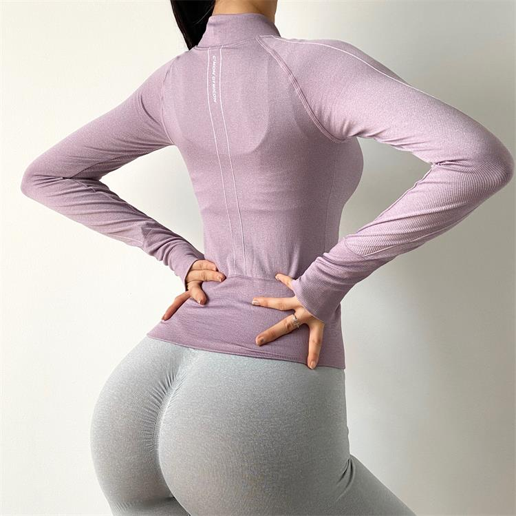 Elastic Sports Jacket for Women Womens Clothing Tops & T-shirts