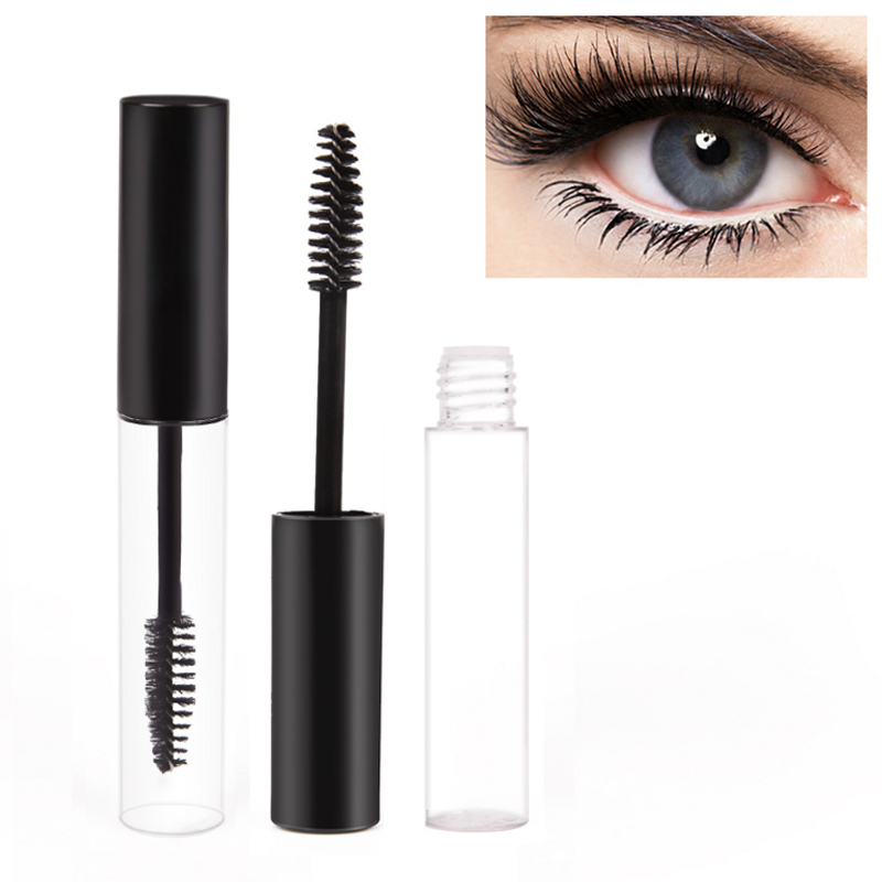 10ml Refillable Bottles Empty Eyelash Tube Mascara Cream Container Eyelashes Extension Serum Brush Applicator Bottle