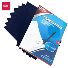 DELI E39834 Carbon Paper 100 sheets/pack A4 Blue Copy Painting Tracing Paper Graphite Painting Reusable Painting Accessories