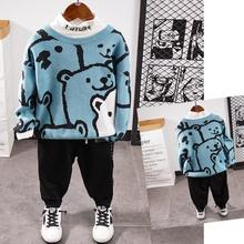 Clothing-Set Pants Sweater T-Shirt Kids Tracksuit Baby Spring 2-6years Children's 3piece-Suits