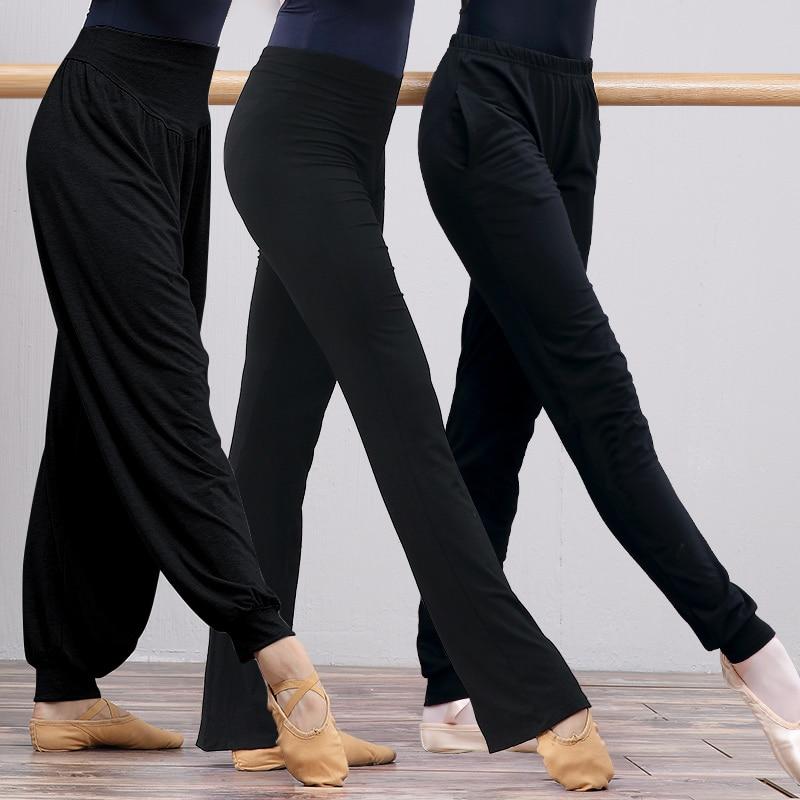Women Yoga Pants High Waist Stretch Fitness Trousers Slim Running Sports Pants Ladies Dance Training Bell-bottoms