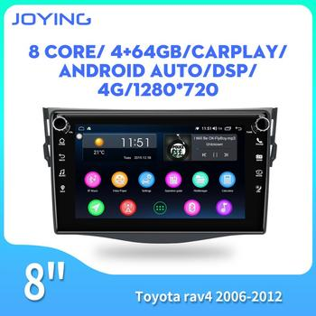Android car radio IPS screen 8 inch autoradio GPS stereo player for Toyota RAV4 2006 2007 2008 2010 2011 2012 DSP WIFI BT audio image