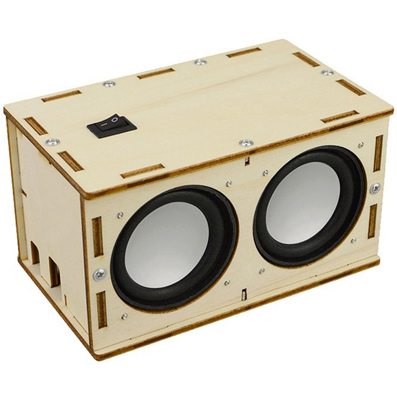 DIY Bluetooth Speaker Material Package Physical Science Experiment School Educational Toys for Children