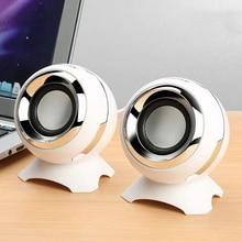 DRM Wired Mini Computer Speakers Bass Horns for Laptop Desktop Phone 6W Powerful Speaker USB AUX Audio Multimedia Loudspeaker