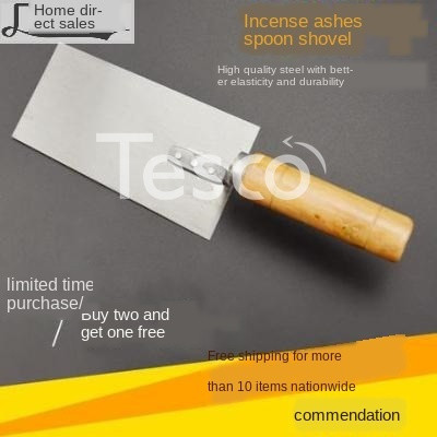 Fine Gray Spoon Ash Trowel Trowel Spatula Tiling Knife Tile Laying Tool Mason Bricklayer
